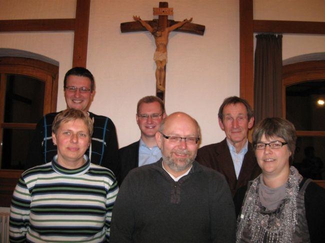 Vorstand des Baufördervereins für die Kirche und Kapellen der Pfarrgemeinde St. Martin Trochtelfingen