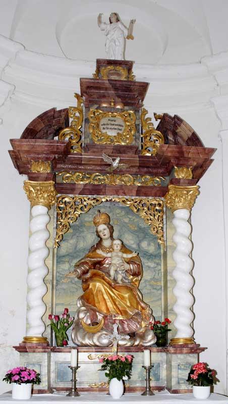 Marienaltar Burgkapelle Trochtelfingen