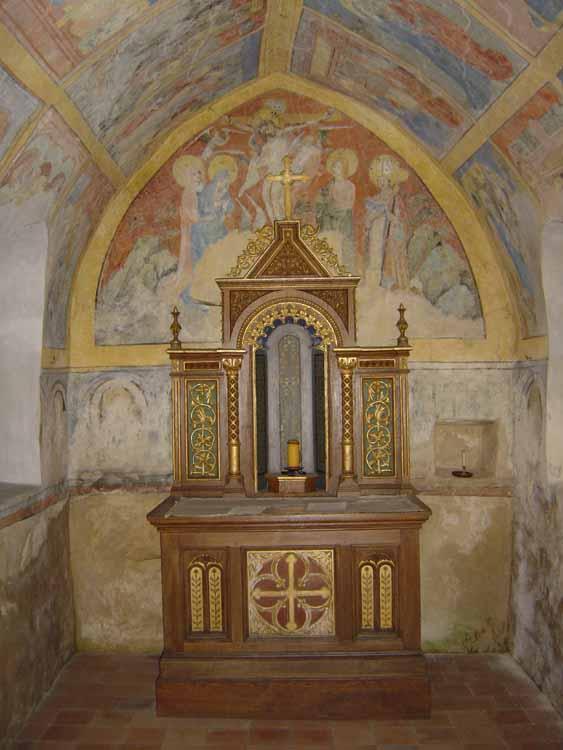Altar Erhardkapelle Trochtelfingen